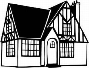 Tudor House :: BUILDINGS & DWELLINGS :: Decals :: Custom.
