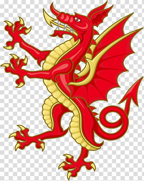 Flag of Wales Wars of the Roses Welsh Dragon House of Tudor.