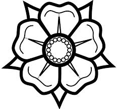 Image result for clipart tudor rose.