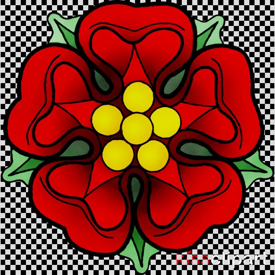 Tudor Rose clipart.