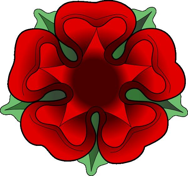 Tudor Rose Clip Art at Clker.com.