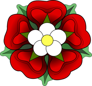 Official Tudor Rose Clip Art.