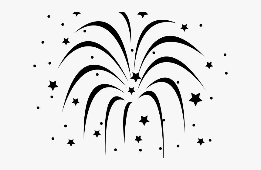 Transparent Firework Clipart.