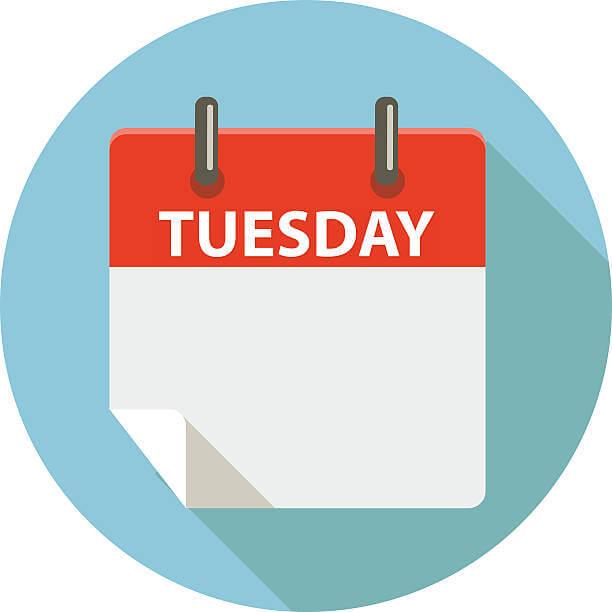 Tuesday Clipart.