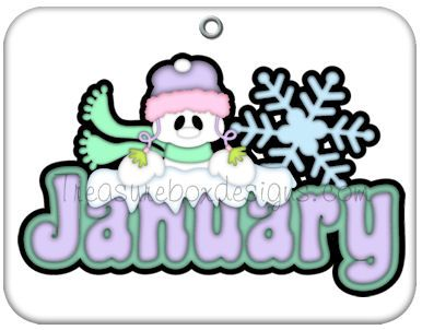 Months of the Year.