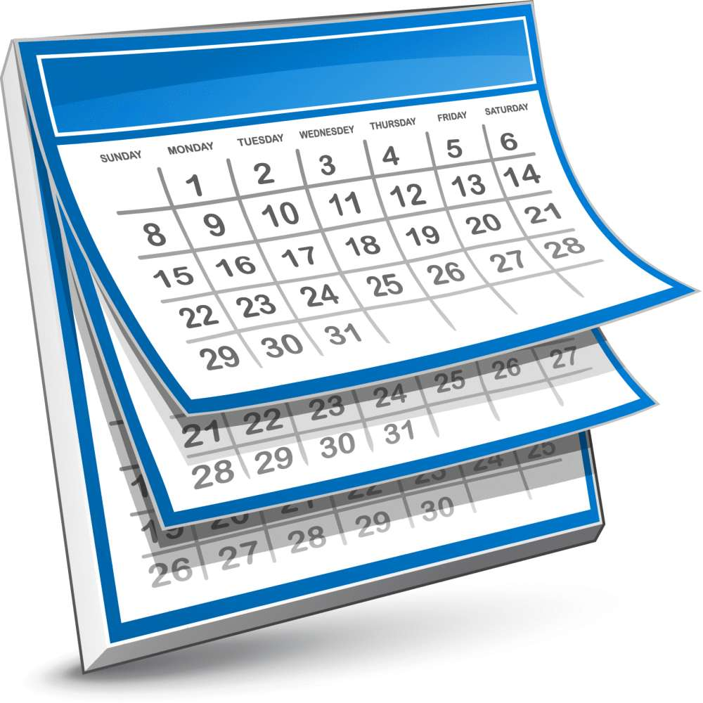 Final Calendar of Events before the Winter Break!.