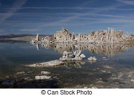 Stock Photographs of Mono Lake Tufa Towers.