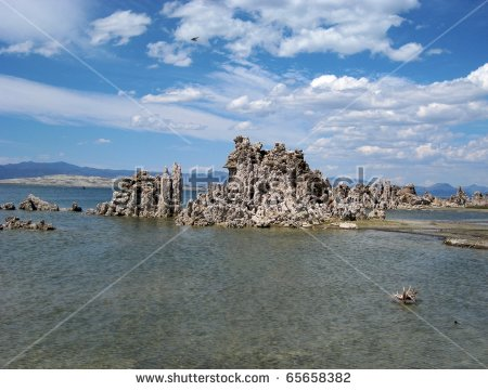 Vector Images, Illustrations and Cliparts: Tufa towers and spines.