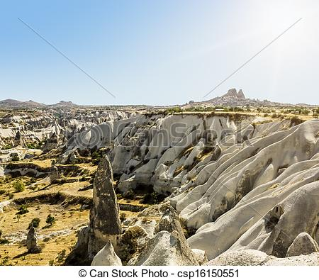 Stock Images of Bizarre rock formations of volcanic Tuff and.