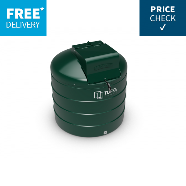 TUFFA 1400VBFP Fire Pro Bunded Heating Oil Tank with Integral Fire  Protection.