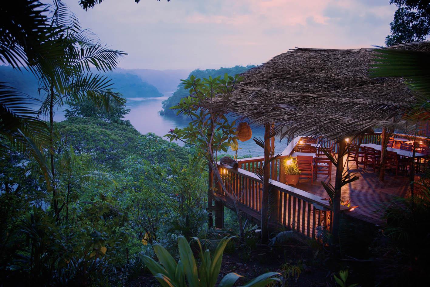 Tufi Resort.