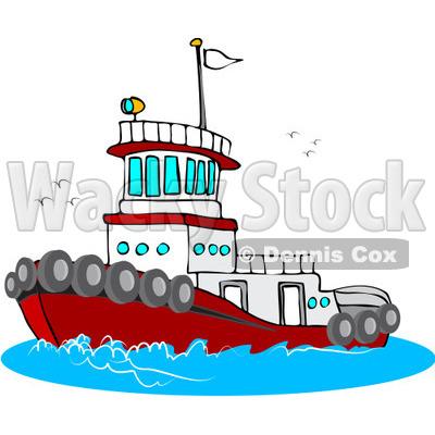 Tugboat clipart free.