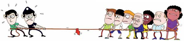 Free Tug Of War Cartoon, Download Free Clip Art, Free Clip.