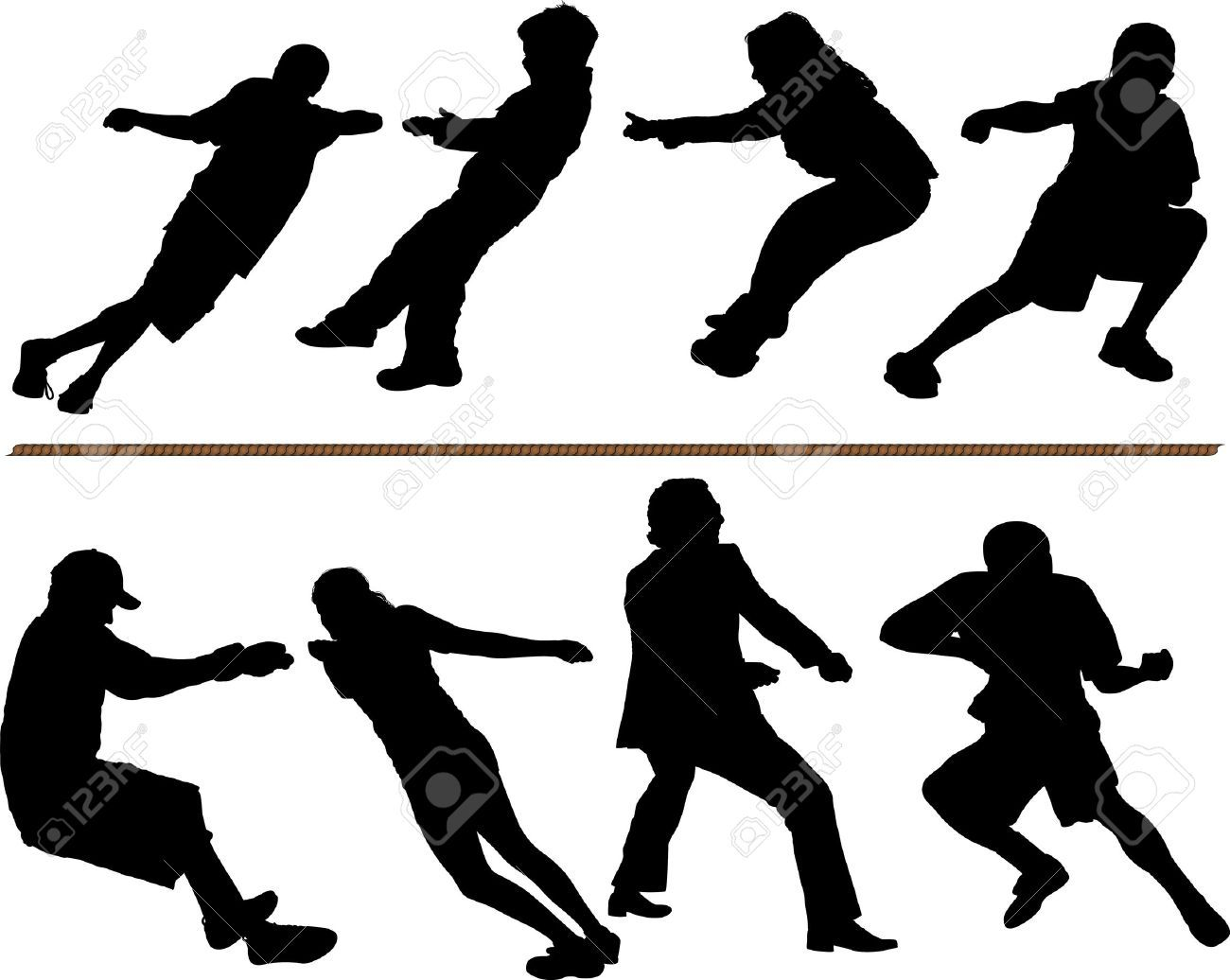 Rope clipart tug war rope #2443.