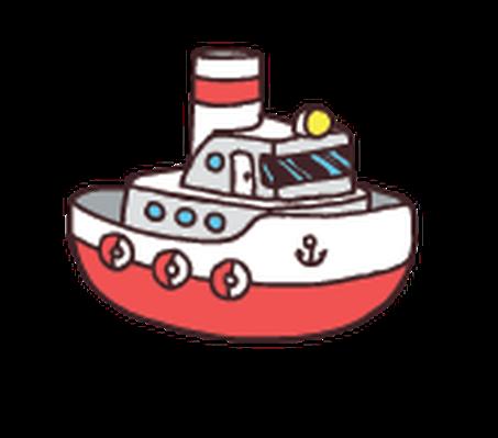 Boat clipart tugboat, Boat tugboat Transparent FREE for.