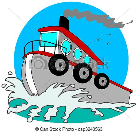 Tugboat Illustrations and Clipart. 165 Tugboat royalty free.