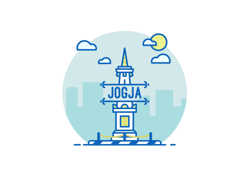 Tugu Jogja by Adi Setyo Chrisworo on Dribbble.