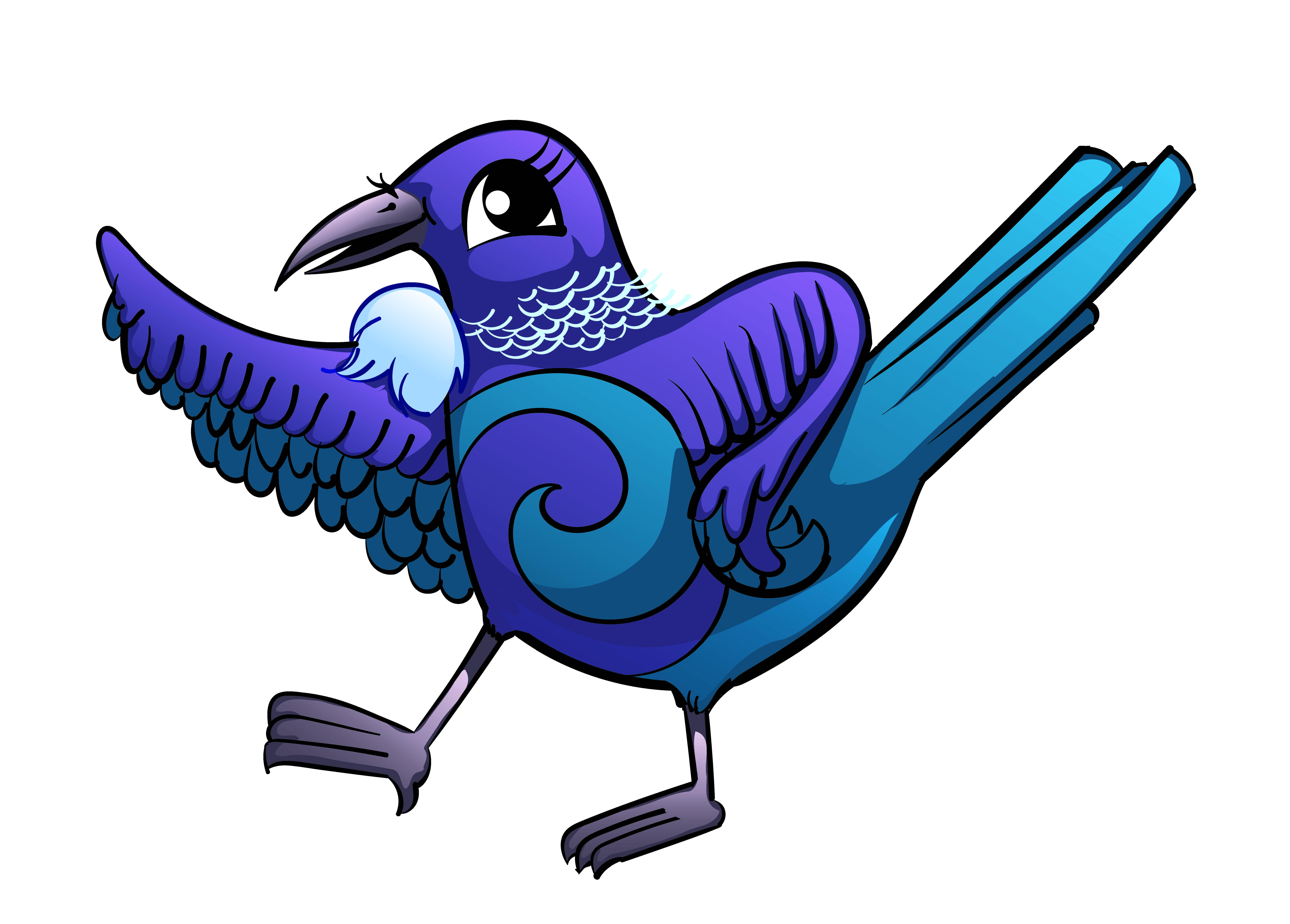 Tui Bird Clipart.