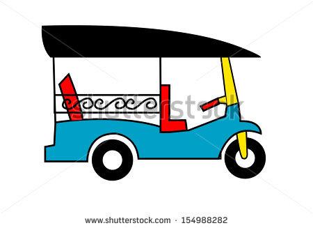 Tuk Tuk Stock Vector 154988282.