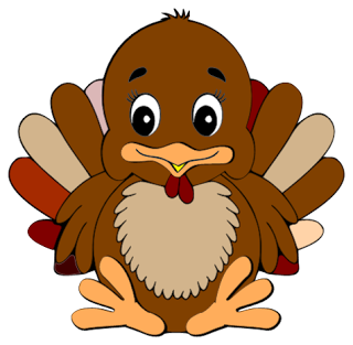 Cute Turkey Free Clipart.