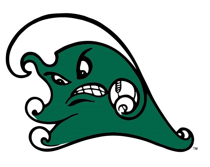 """I\'m Back! Tulane Reintroduces the """"Angry Wave""""."""