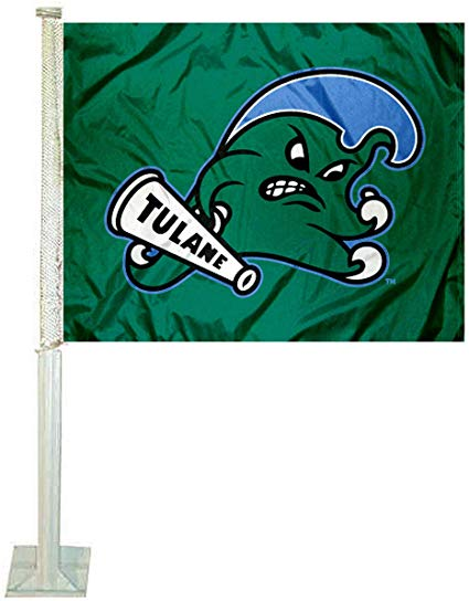 Amazon.com : College Flags & Banners Co. Tulane Green Wave.