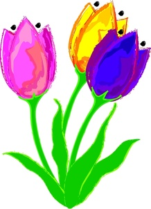 Tulips Clipart Images.