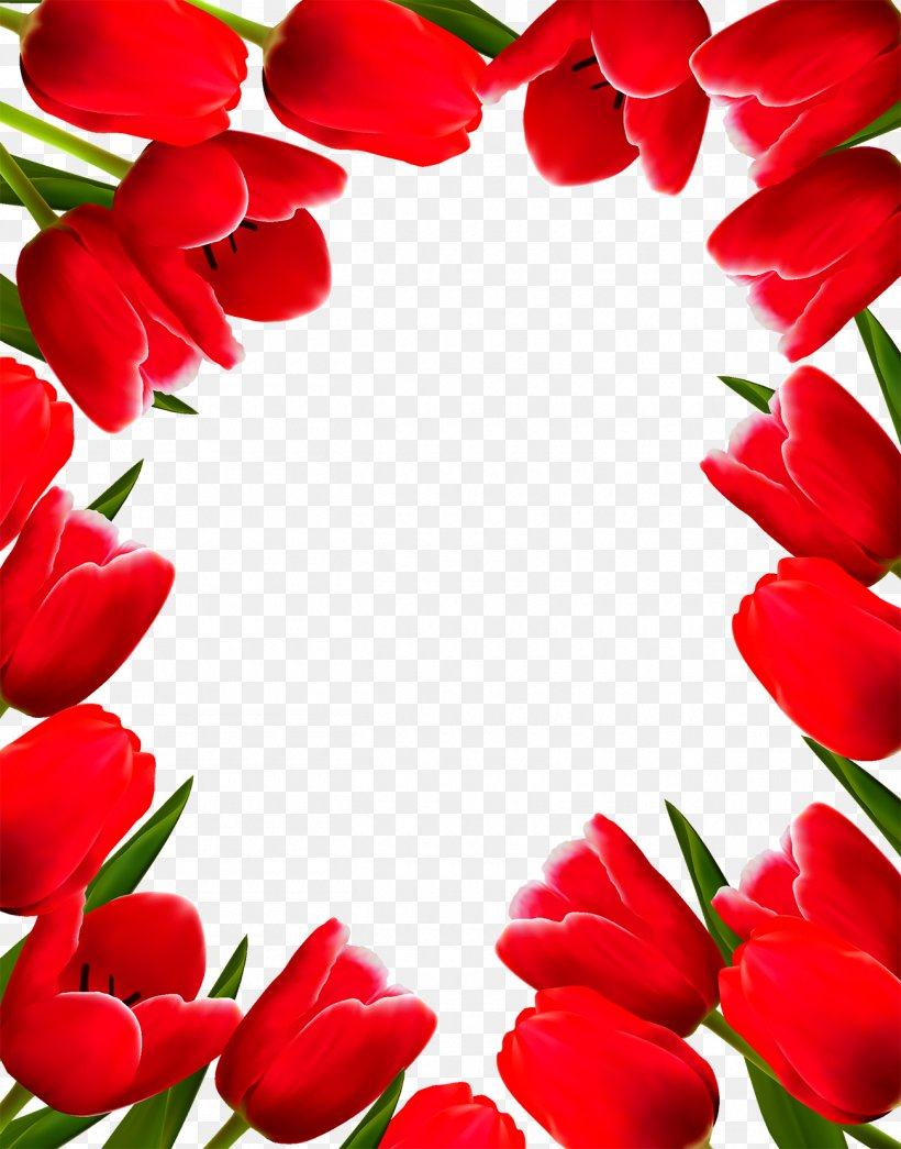 Tulip Flower Picture Frame Clip Art, PNG, 1300x1658px, Tulip.