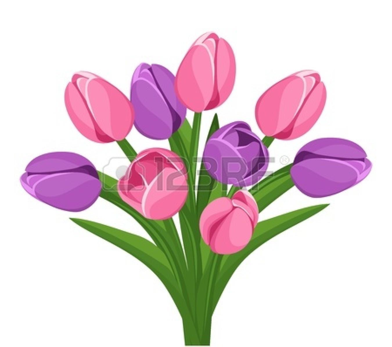 Pink Bouquet Clipart.