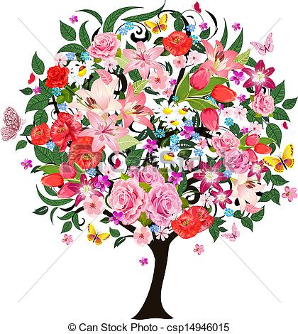 Tulip tree Stock Illustrations. 710 Tulip tree clip art images and.