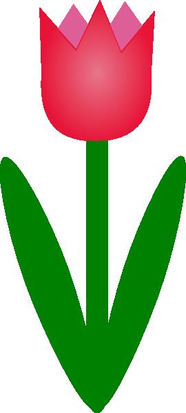 Tulip Clip Art at Clker.com.