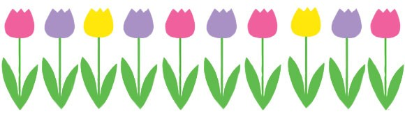 Tulips clipart - ClipgroundTulips Page Borders Clipart Free