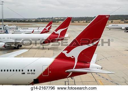 Stock Images of Australia, Melbourne, Tullamarine Airport, MEL.