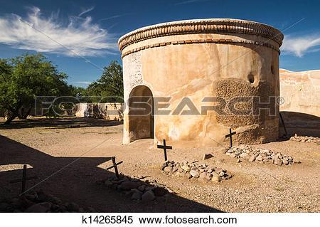 Stock Image of The Spanish Mission at Tumacacori k14265845.