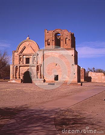 Tumacacori National Monument Stock Photo.