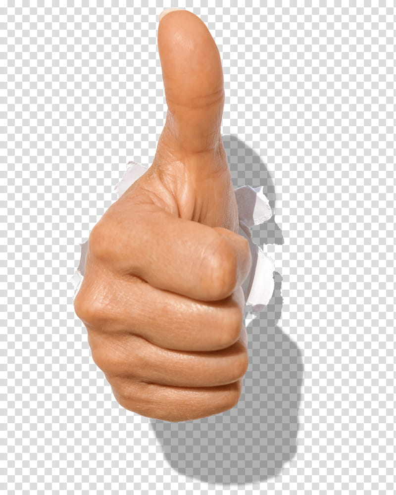 Hand The Ok Gesture, thumps up hand transparent background.
