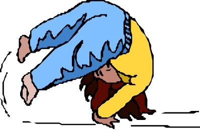 Gymnastics Clipart Tumbling.