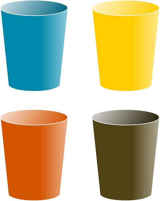 Tumbler Cup Clipart.