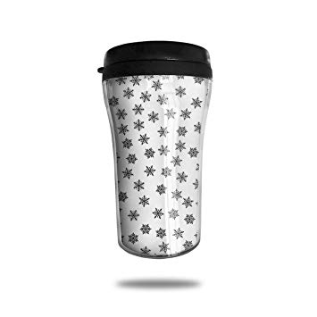 Amazon.com: HJGKFL Clipart Black and White Snowflake Ice.
