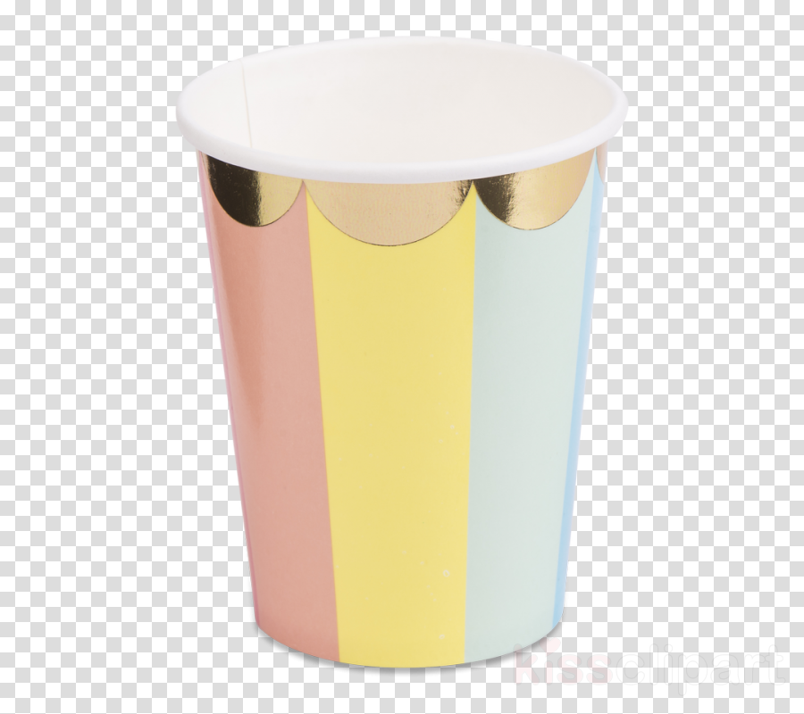 yellow drinkware tumbler cup mug clipart.