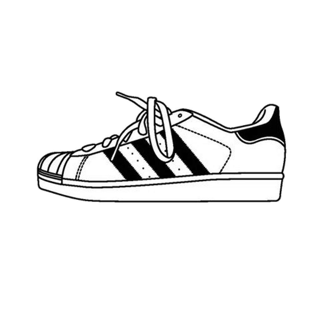 Adidas Shoes Clipart.