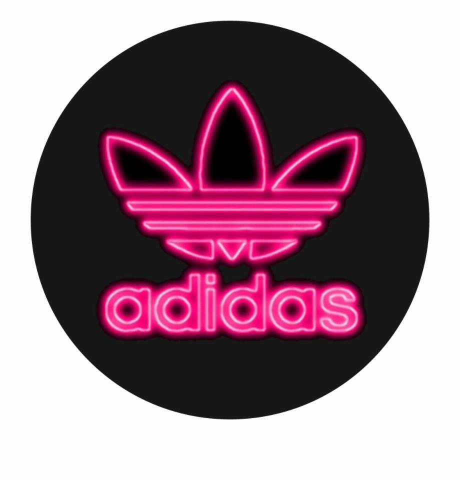 adidas #neonadidas #neon #pink #tumblr #brand.