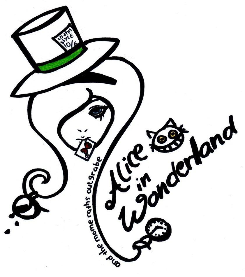 Alice In Wonderland Drawings Tumblr.
