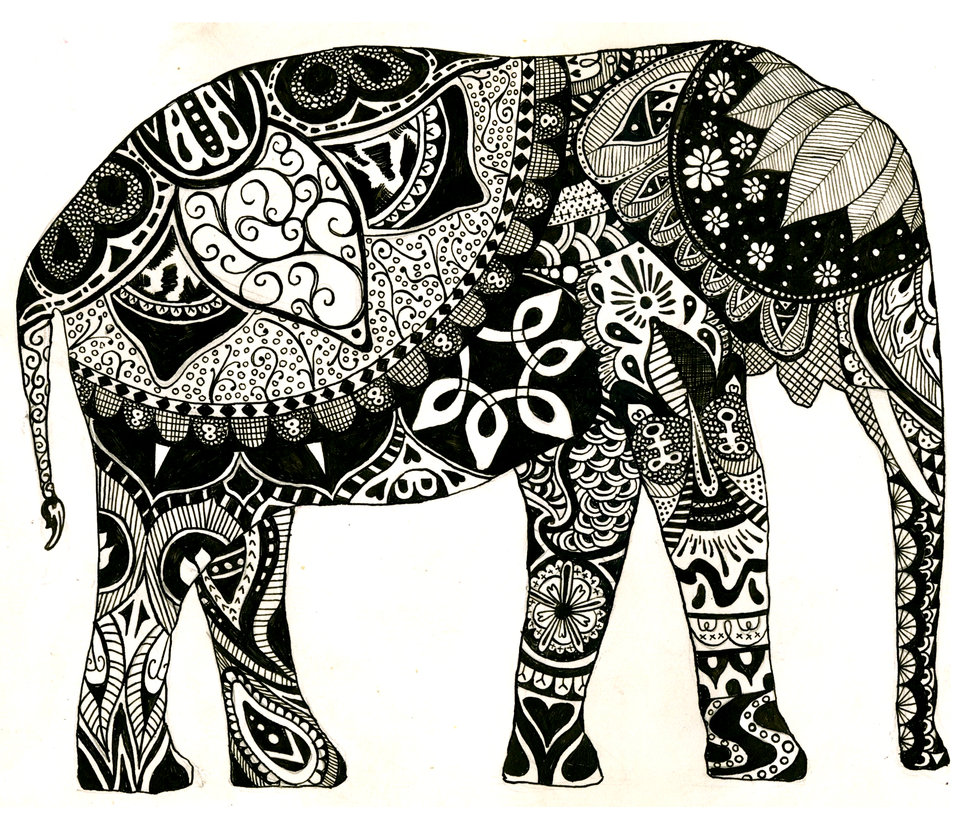 Tumblr Clipart Elephants.