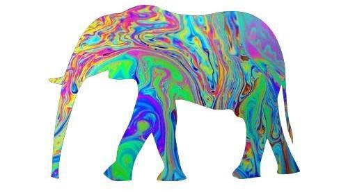 trippy elephant.