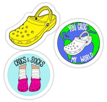 Crocs Sticker Pack Sticker.