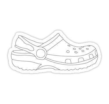 White croc Sticker in 2019.