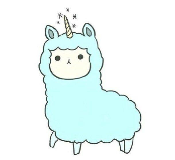 Alpaca clipart transparent tumblr, Alpaca transparent tumblr.