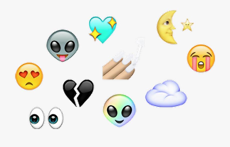 Emojis Stickers Tumblr Emojis Smile Moon Heart Emoji.