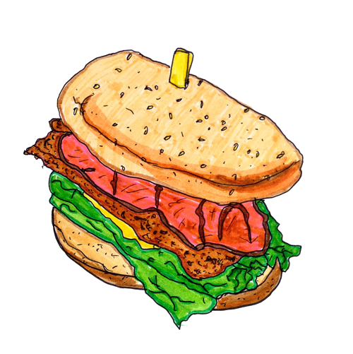 Fast food Junk food Hamburger Clip art.